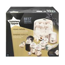 Tommee Tippee Closer to Nature Complete Feeding Set White