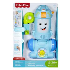 UK supplier of Fisher-Price Laugh and Learn Light-up Learning Vacuum