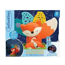 UK supplier of Infantino 3-In-1 Musical Soother & Night Light Projector