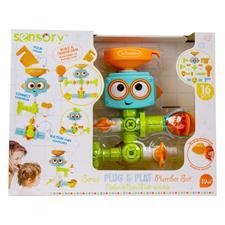 UK supplier of Infantino Sensory Plug & Play Plumber Set