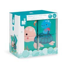 UK supplier of Janod Bath Cubes 4Pk