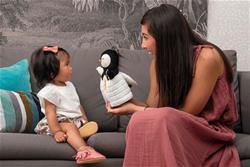 UK supplier of Kaloo Kachoo Surprise Puppet Gabin Penguin