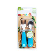 UK supplier of Munchkin Raise Fork & Spoon Set