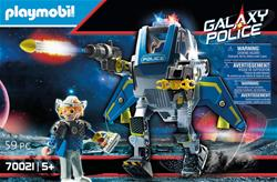 UK supplier of Playmobil Galaxy Police Robot