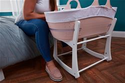 UK supplier of Tommee Tippee Sleepee Basket & Stand - Gentle Pink