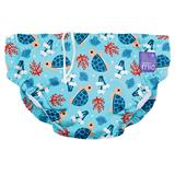 Bambino Mio Reusable Swim Nappy Turtle Baby 1-2yrs