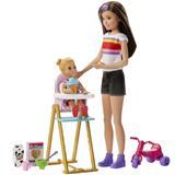 Barbie Babysitter Feeding Time