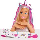 Barbie Deluxe Styling Head Glitter - Blonde