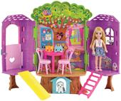 Barbie Treehouse Playset with Chelsea and Pet
