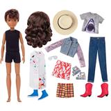 Creatable World Deluxe Character Doll with Brunette Wavy Hair