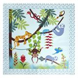 East Coast Splash Mat Tropical Friends