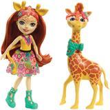 Enchantimals Large Giraffe and Gillian Doll Storytelling Set