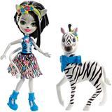 Enchantimals Large Zebra and Zelena Doll Storytelling Set