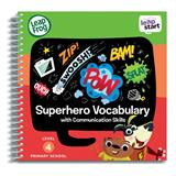 Leap Frog LeapStart Superhero Vocabulary Activity Book