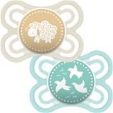 MAM Perfect Soother Unisex 0m+ 2Pk