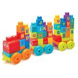 Mega Bloks ABC Learning Train 60pc