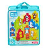 Mega Bloks Build & Match Animals 40pc Bag