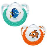 NUK Finding Dory Orthodontic Soother 2pk 0-6months