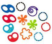 Oball Teethe & Link Loops Set