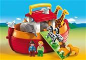 Playmobil 1.2.3 My Take Along Noah´s Ark