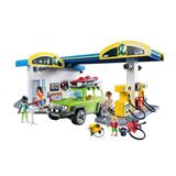 Playmobil City Life Fuel Station