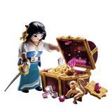Playmobil Pirate with Treasure