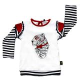 Rockabye Baby Frilly Leonard Leopard Long Sleeve T-Shirt 6-12m