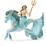 Schleich Mermaid Eyela On Underwater Horse