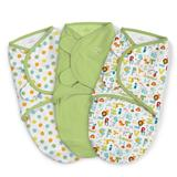 Summer Infant SwaddleMe Original ABC Alphabet 3Pk