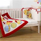 Suncrest Jolly Jamboree 5 Piece Cot Bedding Set