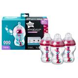 Tommee Tippee Advanced Anti-Colic Bottle Girl 260ml 3Pk