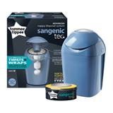 Tommee Tippee Sangenic Hygiene Tec Tub Raindrop Blue