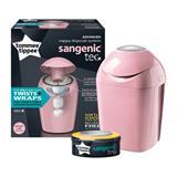 Tommee Tippee Sangenic Hygiene Tec Tub Whisper Pink
