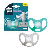 Tommee Tippee Sensitive Soothers 0-6m x2