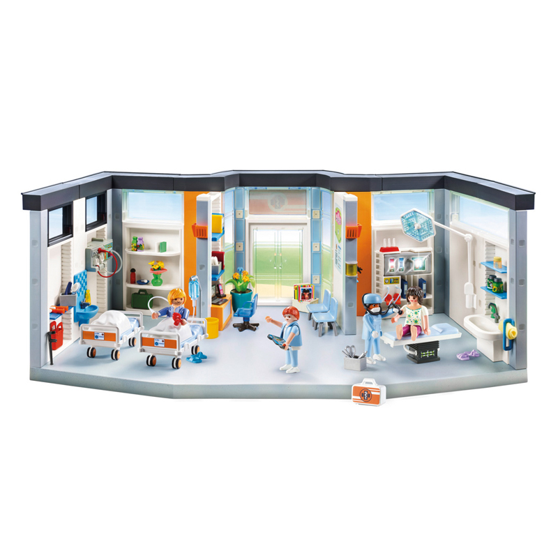 Wholesale Playmobil City Life Hopsital Wing | Playmobil ...