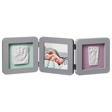 Baby Art My Baby Touch 2 Cast with Photo Frame Grey