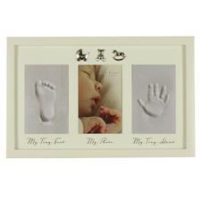 Bambino Baby Photo, Hand & Foot Cast Frame