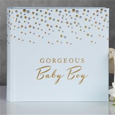 Bambino Little Stars Photo Album Gorgeous Baby Boy
