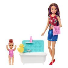Barbie Skipper Babysitters Baby Bathtime Playset