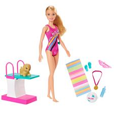 Barbie Swimmer Playset
