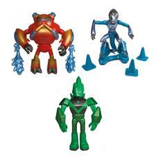 Ben 10 Action Figures Asst Wave 13 - Metallic Theme