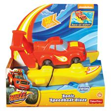 Blaze and the Monster Machines Speedboat Blaze