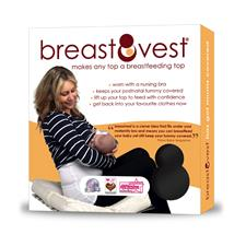 Breastvest Black Medium