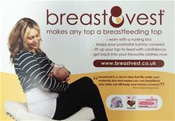 Breastvest Postcard
