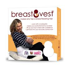 Breastvest White Medium