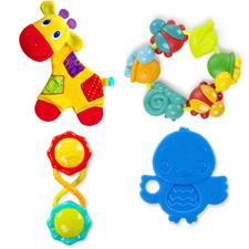 Bright Starts 4pc Teething Fun Baby Gift Set