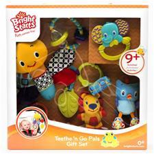 Bright Starts 5pc Teethe N Go Pals Baby Gift Set