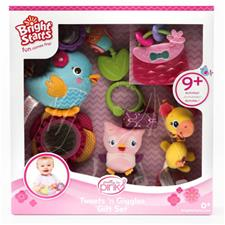 Bright Starts 5pc Tweets n Giggles Gift Set