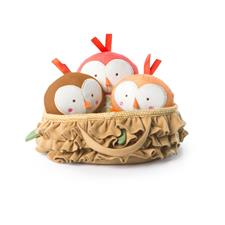 Bright Starts Simply Naturals Tweeting Birds in a Nest Set