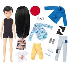 Creatable World Deluxe Character Doll with Black Hair